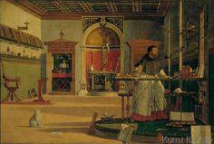 Vittore Carpaccio - Vision of Saint Augustine