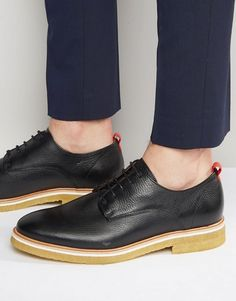Find the best selection of Zign Leather Crepe Sole Derby Shoes. Shop today with free delivery and returns (Ts&Cs apply) with ASOS! Derby Shoes, Loafers Men, Men Dress, Oxford Shoes, Leather, How To Wear, Fashion, Mens Leather Shoes, Men's Leather