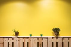 Impact Hub Tokyo has a great cosy corner with bright yellow walls, grass, and potted plants. The meeting rooms at Impact Hub Stockholm are being continually developed to bring the same feeling of the Impact Hub that they are named after.  www.impacthub.se