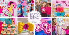 Hoje trazemos dicas para sua festa Lalaloopsy ficar maravilhosa! São 20 ideias surpreendentes. E mais!!! Um tutorial em vídeo completo sobre como montar a mesa! São diversas imagens para você se in...