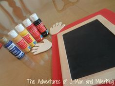 Engage Your Child wit a DIY Toddler Chalkboard