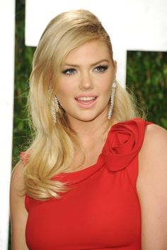 Kate Upton – 2012 Vanity Fair Oscar Party in West Hollywood