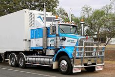 Freight Truck, Bull Bar, Road Train, Cab Over, Kenworth Trucks, Semi Trucks, Tractors, Vehicles, Rust