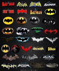 Batman changes him logo to much