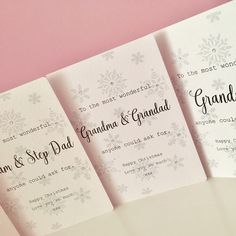 Family Christmas Cards 🎄