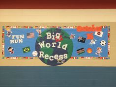 Boosterthon big world recess prizes for baby