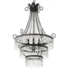 Glass Chandelier, Cut Glass, Ceiling Lights, Interior Design, Lighting, Home Decor, Products, Nest Design, Decoration Home