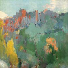 'Serra de Tramontana, Mallorca' - Joaquin Mir (1873-1940)