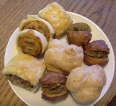 Variety of savoury bites Pretzel Bites, Muffin, Bread, Breakfast, Sweet, Food, Morning Coffee, Candy, Muffins