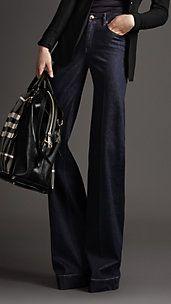 HELMDON INDIGO WIDE LEG JEANS- be still my heart...love these jeans