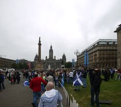 Shattered yes supporters try to hold it together on the 19th - day after losing the referendum