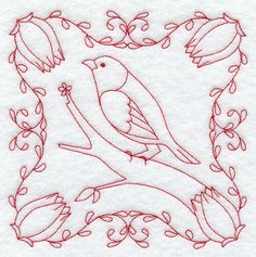 Machine Embroidery Designs at Embroidery Library! - Color Change - G8964