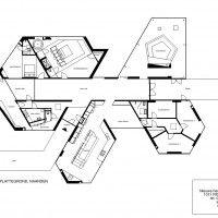 Dick van Gameren Architects - Villa 4.0 in Het Gooi, The Netherlands - floorplan 2