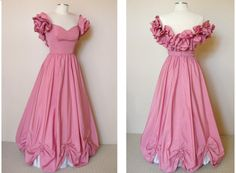 50's Pink Party Dress  Princess Cinderella by PassionFlowerVintage, $450.00