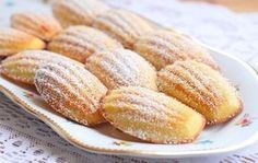 "Delicious homemade cookies ""Madeleine"" in 15 minutes Many housewives are going to buy a variety of cookies in the shops. Hungarian Recipes, Russian Recipes, Russian Desserts, Good Food, Yummy Food, Sweet Pastries, Homemade Cookies, Homemade Biscuits, No Bake Cookies"