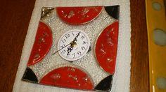 Reloj en vitrofusion Advent Calendar, Holiday Decor, Home Decor, Watch, Interior Design, Home Interior Design, Home Decoration, Decoration Home, Interior Decorating