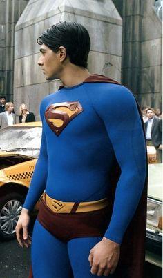 Superman Actors, Superman Art, Superman Man Of Steel, Dc Comics Heroes, Dc Comics Characters, Smallville, Brandon Routh Superman, Jack Skellington Cosplay, Superman Pictures