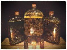 Santisima Muerte Oil - Three Robe Set