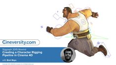 Siggraph 2015 Rewind - Bret Bays: Creating a Character Rigging Pipeline in Cinema Character Rigging, 3d Character, Character Concept, Character Design, Cinema 4d Tutorial, Animation Tutorial, 3d Tutorial, Learn Animation, Animation Types