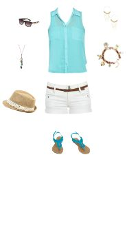WetSeal.com Runway Outfit:  Sky Is The Limit by LadiiHotHead. Outfit Price $89.74