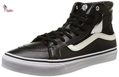 Vans Sk8-Hi Slim Cutout, Sneakers Hautes mixte adulte, Noir (Mesh/Black/White), 38.5 EU (5.5 UK) - Chaussures vans (*Partner-Link)