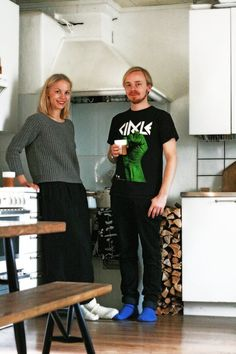 uniforme confortable (c) AT Saana & Olli's Tiny Turku Nest