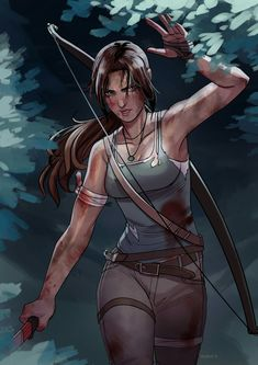Lara Croft from the Tomb Raider series Game Character Design, Comic Character, Tomb Raider Video Game, Mononoke Cosplay, Tomb Raider Lara Croft, Rise Of The Tomb, Mileena, Geeks, Cool Sketches