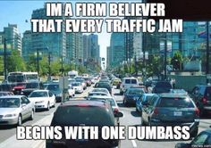 Traffic jam meme - http://jokideo.com/traffic-jam-meme/