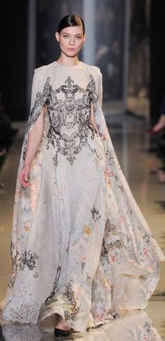 Paris Haute Couture: Elie Saab spring/summer 2013 by reva