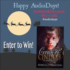 Im giving away audio books this week! Head over and join the fun!
