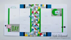 Best Day Layout with CTMH Some Kinda Wonderful papers and Complements.  by Vicki Wizniuk