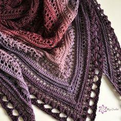 Crochet Bucket List for the New Year! - Nana's Crafty Home Secret Paths Shawl by Mijo Crochet, free crochet shawl pattern Crochet Bolero, Crochet Shawls And Wraps, Crochet Scarves, Crochet Clothes, Crochet Hats, Crochet Shawl Free, Crochet Birds, Crochet Food, Crochet Bear
