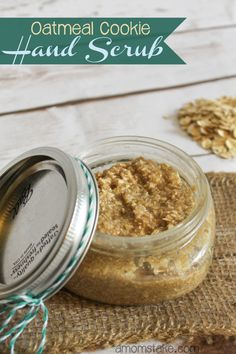 Oatmeal Cookie Hand Scrub Recipe