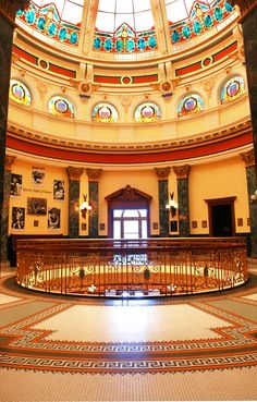 """""""The Old San Mateo County Courthouse building and beautiful stained glass dome,.... has housed the San Mateo County History Museum (since 2000 and turned)100 years old in 2010. (They) are key attractions to Downtown Redwood City."""""""
