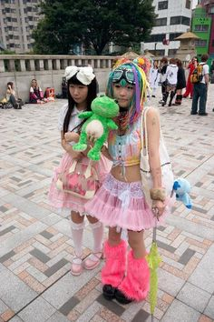 harajuku fashion in japan | Harajuku Freak Fashion picture
