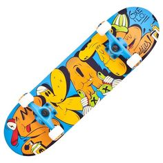 Check out our New Product  Play 3 Buddies Childrens Skateboard in Blue Oxelo COD Wooden deck, plastic truck or wheels not designed for doing tricks,Wide deck 20 cm,Slow rolling speed for safely learning to skateboard.  ₹1,888
