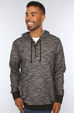 f55ce5578b7cf The Captain Hoody in Black by RVCA Black Models