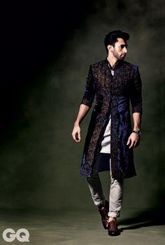 Rajesh Pratap Singh Top Indian Sherwani Designers Best Collection for Weddings… Wedding Dress Men, Indian Wedding Outfits, Wedding Men, Wedding Suits, Indian Outfits, Male Outfits, Wedding Parties, Indian Weddings, Farm Wedding