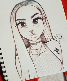 omg this is so simple but cute drawing from Christina Lorre