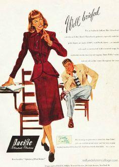School Vintage Ads