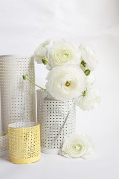 DIY lanterns/vases m