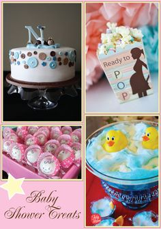 Pamela Smerker Designs: Baby Shower Treats {Tasty Treats Thursday}