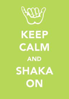 ...and shaka on...
