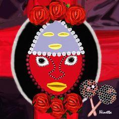 Yoruba Collection  Eleggua Digital Art  - Yoruba Collection  Eleggua Fine Art Print