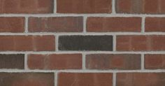Rustic Burgundy Thin Brick is a burgundy thinbrick from the Caledonia Plant Burgundy Walls, Acme Brick, Thin Brick Veneer, Brick Colors, Brick And Stone, Red Bricks, Building Materials