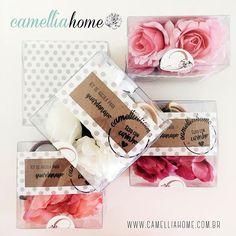 Argola para guardanapo, kits exclusivos Camellia Home Decor, para sua mesa e uma ideia de presente para encantar.