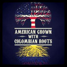 Llevo mi sangre Colombiana con orgullo