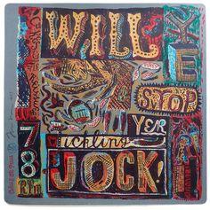 """Stop Yer Tickling Jock"" a screenprint by Jonny Hannah http://www.stjudesprints.co.uk/collections/jonny-hannah/products/stop-yer-tickling-jock"