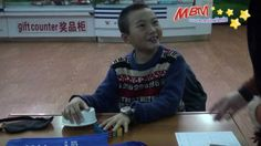 Midbrain activation follow-up courses - ESP Enhancement Program  Student in the training - workshop conducted in Daqing, China  Amazing boy can perform to sense and see through the colours in the bowl and immediate to tell the colour.