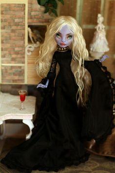 OOAK Monster High doll sea monster